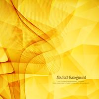 Abstract bright wavy polygonal background