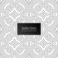 Abstracte decoratieve naadloze patroonachtergrond