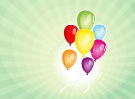 Balloons Party For Carnival And Holidays Background