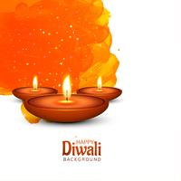 Creative colorful festival background for happy diwali design