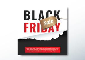 Ripped Paper Black Friday Uitverkoop
