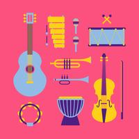 Musical Instruments Knolling