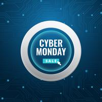 post sui social media di cyber monday