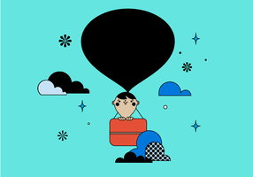 Free Ballon Vector