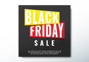 Sale Banner Of Black Friday