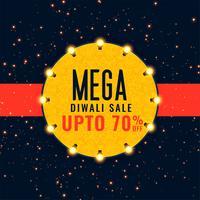 mega diwali venda festival fundo
