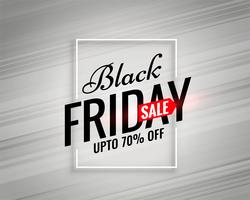 modello di vendita venerdì nero moderno