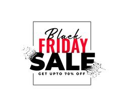 abstract black friday sale banner in explosion style