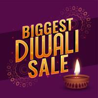 diwali grote verkoop banner poster ontwerp teample