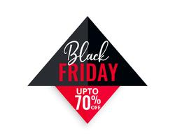 black friday sale geometric background