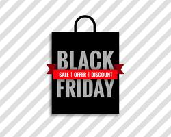 black friday sale bag background