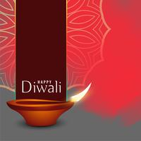abstract diwali holiday celebration greeting background