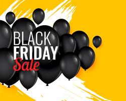black friday balloon background for sale and promotion