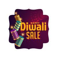 stylish diwali sale celebration banner