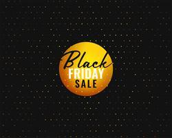 modèle de bannière de vente vendredi noir dans un style créatif