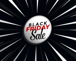 Schwarzer Freitag Verkauf Banner Vorlage