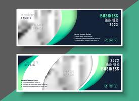 professionelle Business Banner Vorlage Layout-Design