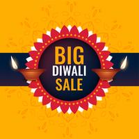 big diwali sale banner design