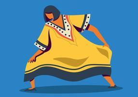 Woman in Kaftan