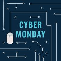 Elektronisk Cyber ​​Monday Post