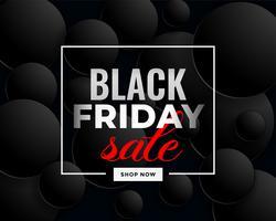 conception de bannière créative vente vendredi noir