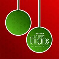 merry christmas greeting with text space