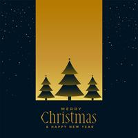 beautiful chrismtas tree night scene background