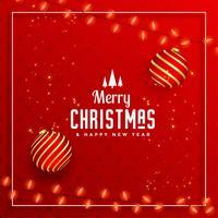 mooie vrolijke decoratieve groet van het kerstfeest