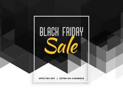 conception créative bannière abstraite vendredi noir