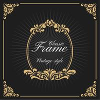 Vintage Luxury Monogram Logo Template