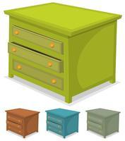 Cabinet Green Set