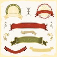 Grunge Banner Set