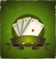 Banner de Aces do Poker de Cassino