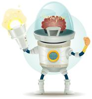 comic scifi droid superhero karaktär