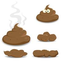 Dung, Pooh And Other Shit Collection vector