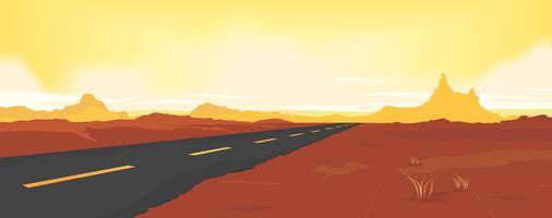 Zomer Desert Road