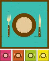 Grunge Restaurant Banner Set