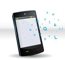 teléfono inteligente abc