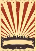 Grunge American Leaflet