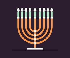 menorah illustration