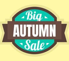 Stor hösten försäljning