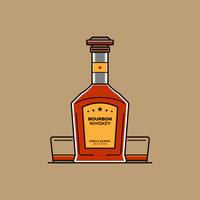 bourbon vector