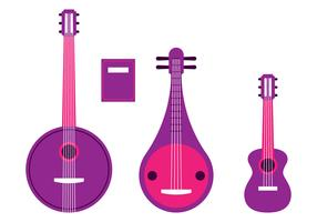 String Instruments Knolling Set