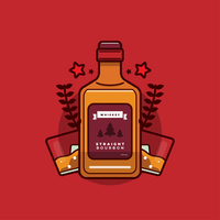 bourbon vektor