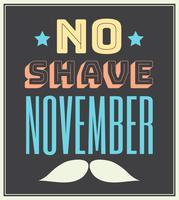 geen scheerbeurt november