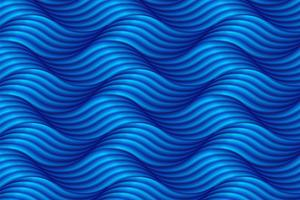 Abstract blue wave background in asian style. Vector illustratio