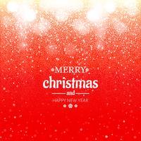 Bokeh merry christmas glitters festival background