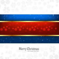 Christmas beautiful card with snowflake background vector