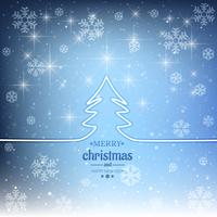 Modern merry christmas decorative background vector