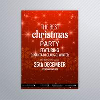 Fliegerschablonen-Hintergrundvektor der frohen Weihnachten